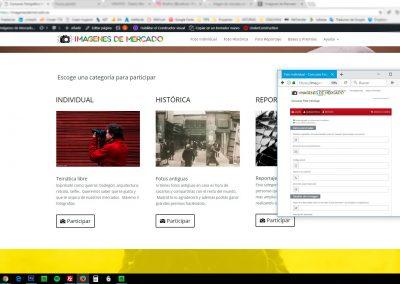 Imagenes de mercado - diseño web